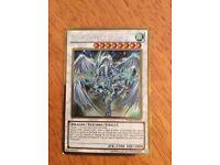 Yu-Gi-Oh! Limited Edition Stardust Dragon Synchro Card.RARE!!