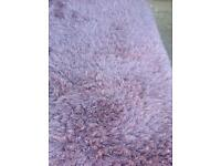 Next lilac rug 5 ft 10 inch long x 4 ft 2