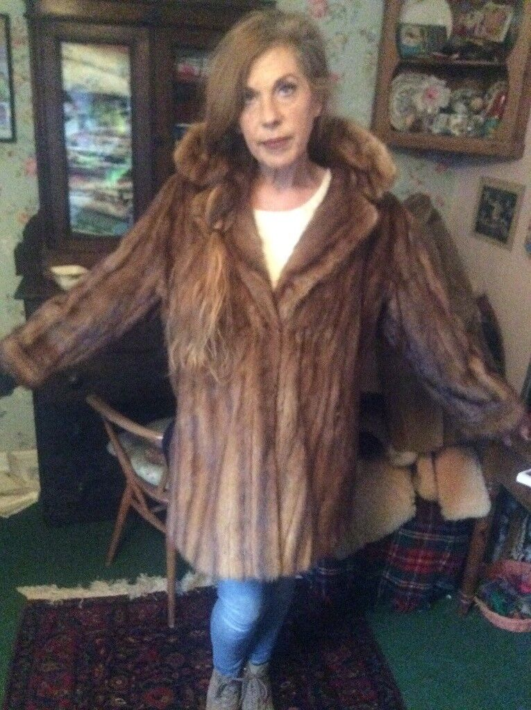 3e8cadbc2fe1a fox furs multicolor women hot sale high fashion parka fur hood parka  fashion fur coats