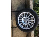 Ford Fiesta zetec s alloy wheel 195/50R15 82V with new tyre