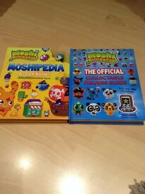 Mosh I Moster Books with Exclusive Characters