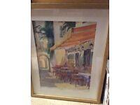 Oak Framed Picture