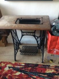 Singer sewing machine treadle