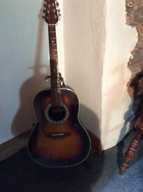 Ovation electro/acoustic guitar