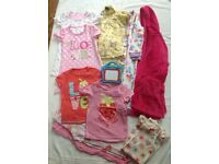 Girls bundle of nightwear aged 3-4 years