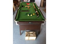 Riley 6 ft x 3 ft folding Snooker Table