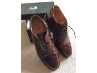 """Men's brown shoes """"Loake"""" Size 8.5"""