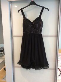 Ladies black dress 12