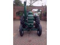 Field Marshall tractor series 2 1947
