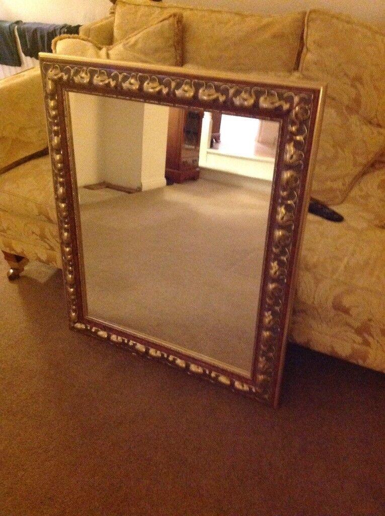 beautiful traditional mirrors £25 each or £40 for both