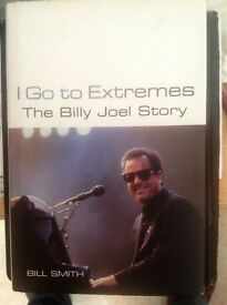 Billy Joel 'I Go To Extremes' & 'The Autobiography' Books