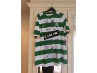 Authentic Nike Celtic FC strip top.