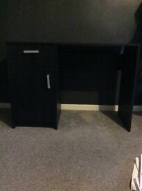 Black desk for sale