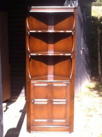 Ercol corner cabinet in very good condition