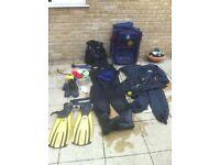 Scuba diving equipment for sale