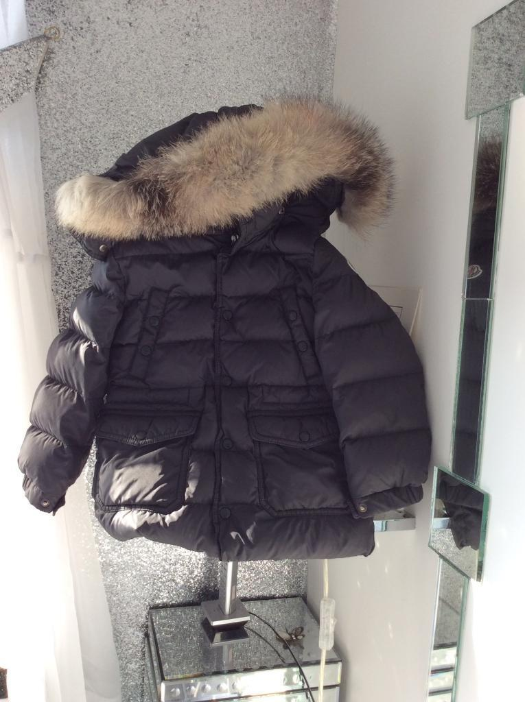 bc51e62d3 Moncler authentic grey Hubert coat age 3. Pass as new £180 | in Everton,  Merseyside | Gumtree