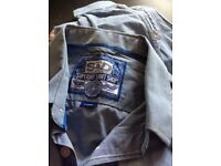 2 x Superdry men's shirts ( exc condition)