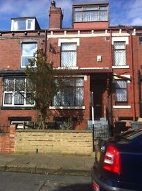 2 bed terrace for rent, Cross Flatts Road, Beeston.