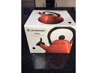 Le Crueset Kone Kettle Black Brand New
