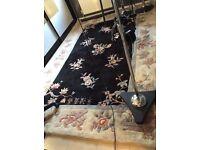 Stunning Chinese dense heavy wool rug 9x6