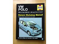 VW Polo 2002 to Sept 2009 (51 to 59 reg) Petrol & Diesel Owners Workshop Manual