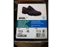 Foot Joy AQL golf shoes UK 10.5 medium - BLACK