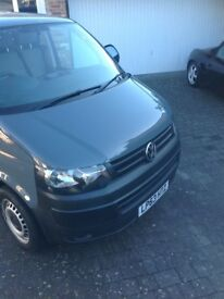 VW T5 Transporter in grey