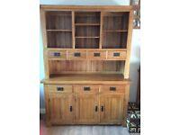 Beautiful solid oak dresser. Less than 1yr old. Oak Furniture Land