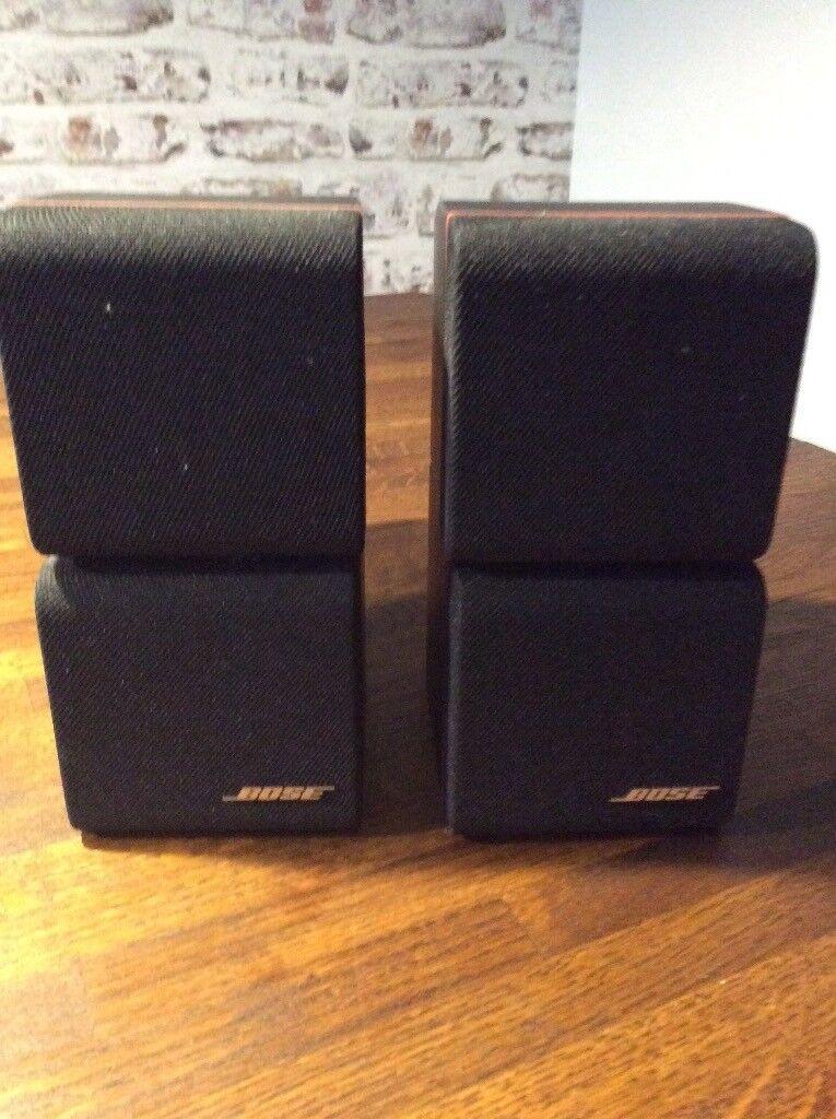 2 Pairs of Bose speakers