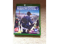XBOX ONE game Watch Dogs 2