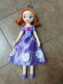 Disney Sofia soft doll