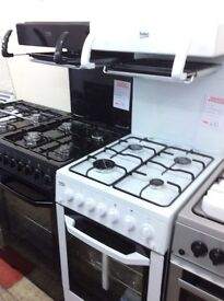 White Beko high level grill cooker new graded 12 months gtee