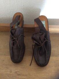 Vintage Bertie Shoes leather sling back size 40.5