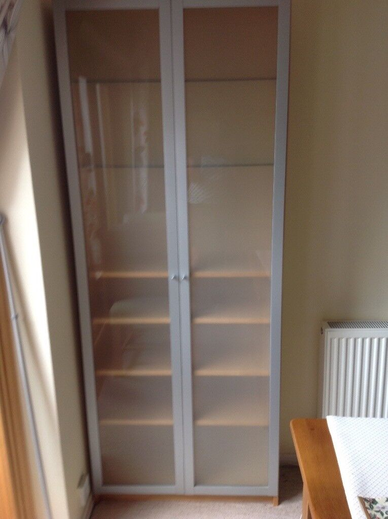 Ikea Cabinet With Frosted Glass Doors In Beeston