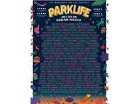 2 X VIP PARKLIFE TICKETS 9th -10th JUNE both days bargain !!!!!