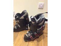 Head Edge Ski Boots (Sz 7.5) and Boot Bag