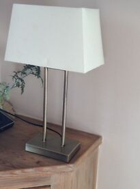 John Lewis Floor and Table lamp duo