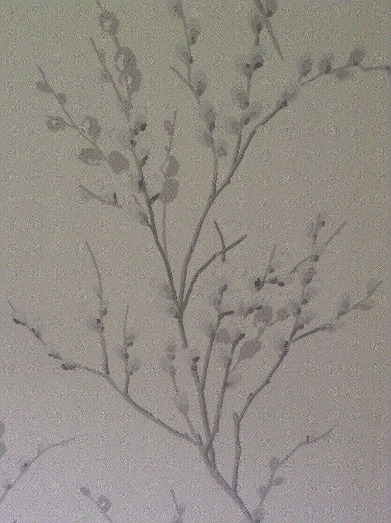 Laura Ashley Pussywillow Wallpaper