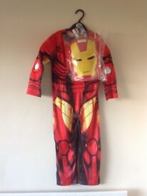 New with tags Ironman outfit with mask 3-4yrs, 5-6yrs