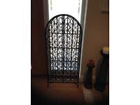 Wine rack decorative wrought iron