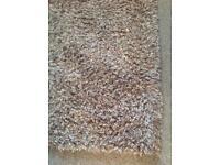 Shaggy mink indulgence rug large
