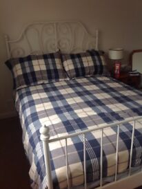 Double Bed Frame, Slats & Mattress MOVING MUST SELL