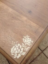 Up cycled occasional table
