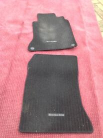 Mercedes Benz set of 2 Driver and Passenger Mats cost £80 offered £40 ono