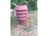 2 X Chimney Pots Planters