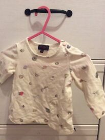 Baby girls Paul smith top 0-6 months size