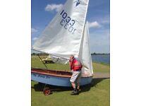For Sale: Heron sailing dinghy, 10338