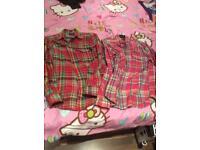 2 Medium Ralph Lauren Long Sleeve shirts