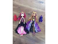 2 X Monster High dolls