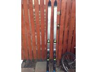 Set of K2 Salomon snow skis - length 1.860""